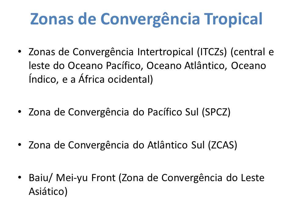 Zonas de Convergência Tropical