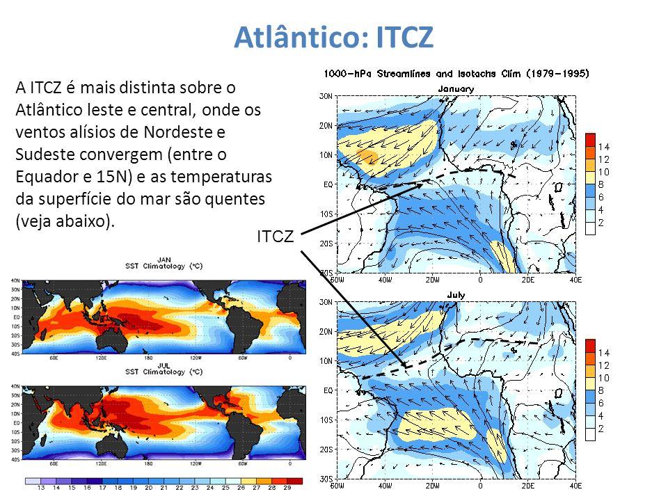 Atlântico: ITCZ