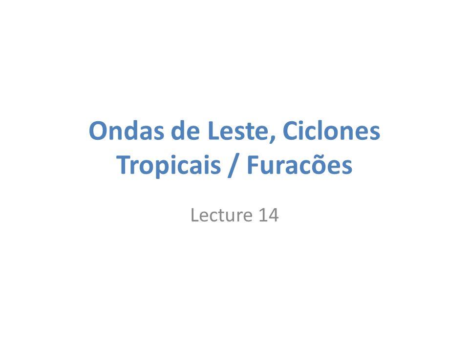 Ondas de Leste, Ciclones Tropicais / Furacões