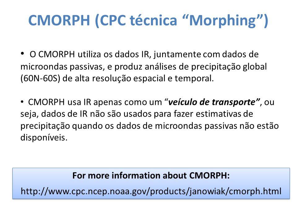 CMORPH (CPC técnica Morphing )
