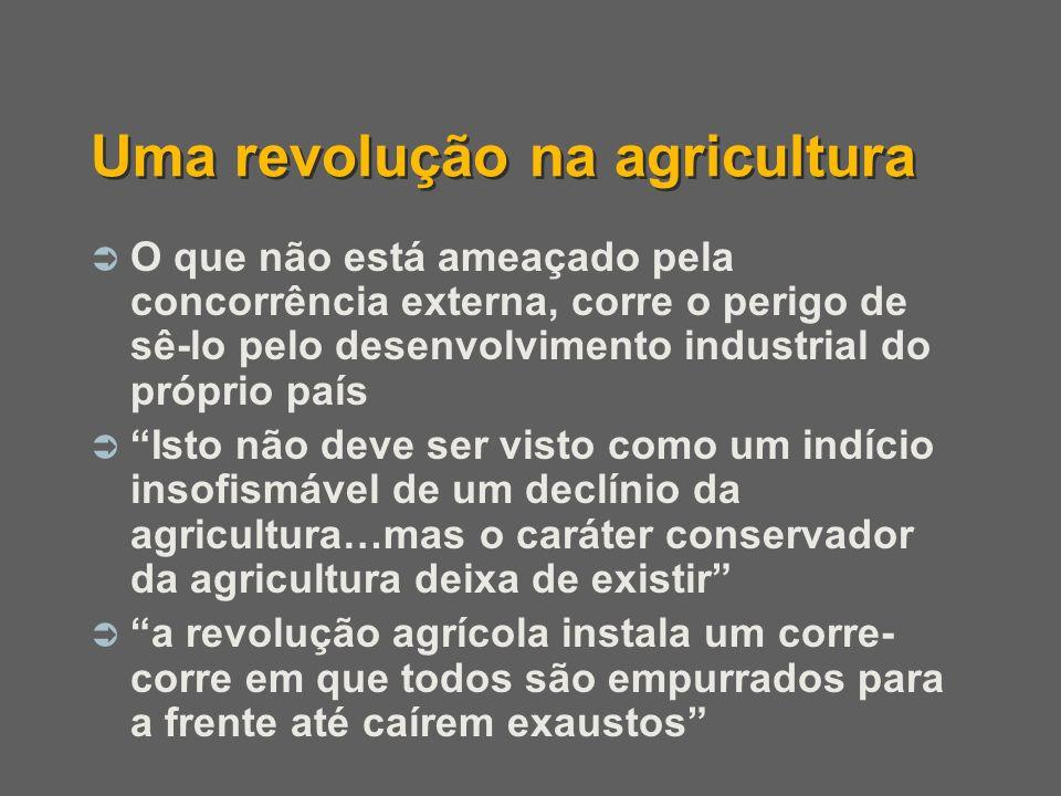 Uma revolução na agricultura