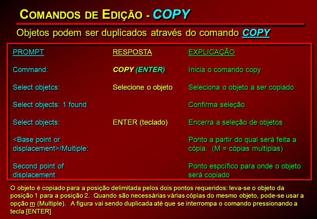 COMANDOS DE EDIÇÃO - COPY