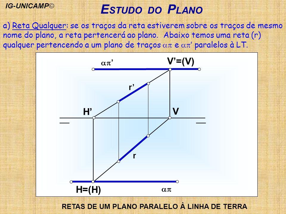 ESTUDO DO PLANO V'=(V) H' V H=(H)