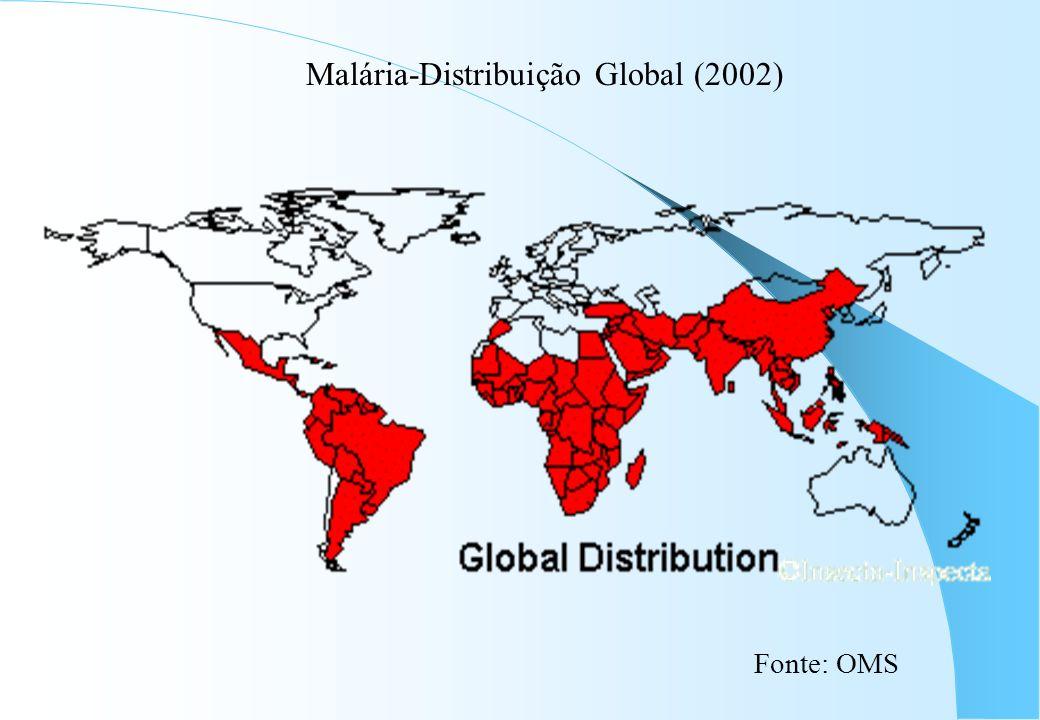 Malária-Distribuição Global (2002)