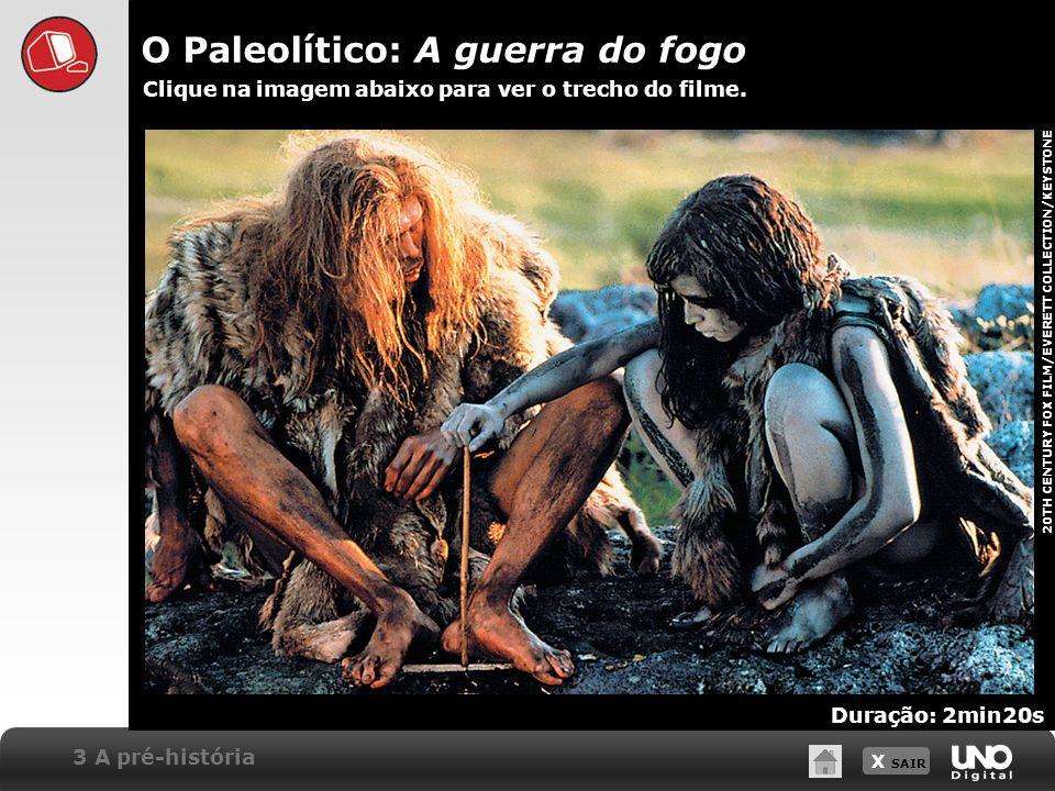 O Paleolítico: A guerra do fogo