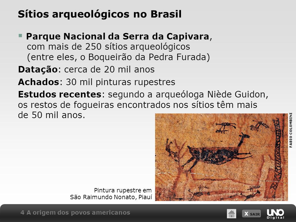 Sítios arqueológicos no Brasil