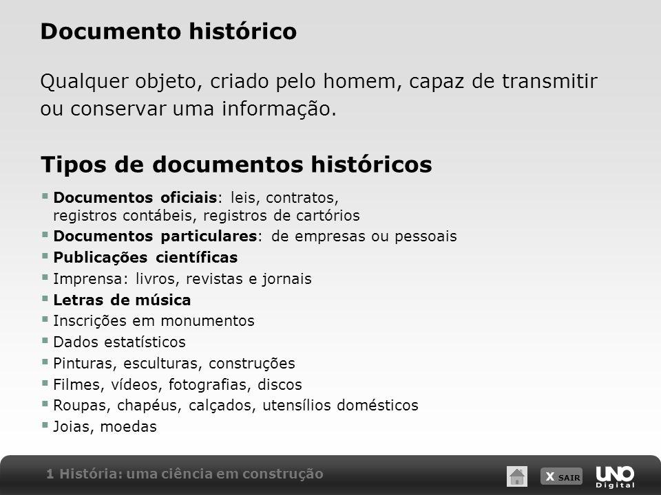 Tipos de documentos históricos