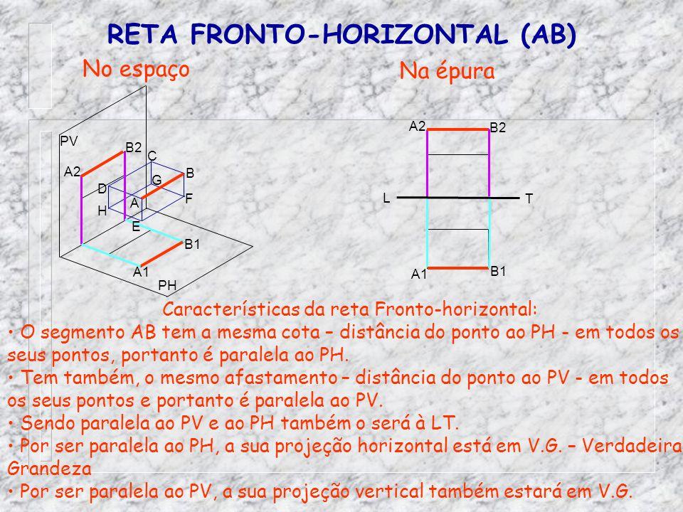 RETA FRONTO-HORIZONTAL (AB)
