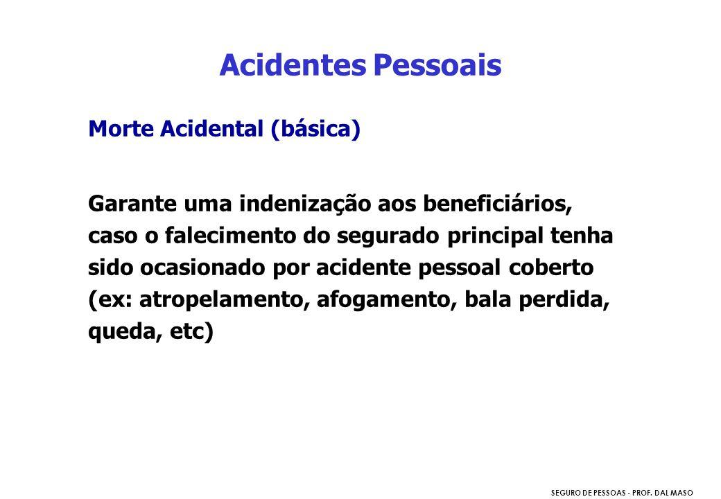 Acidentes Pessoais Morte Acidental (básica)
