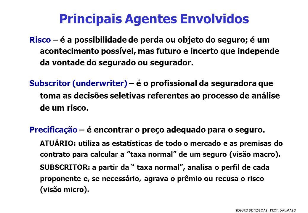 Principais Agentes Envolvidos