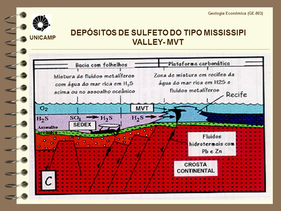 DEPÓSITOS DE SULFETO DO TIPO MISSISSIPI VALLEY- MVT