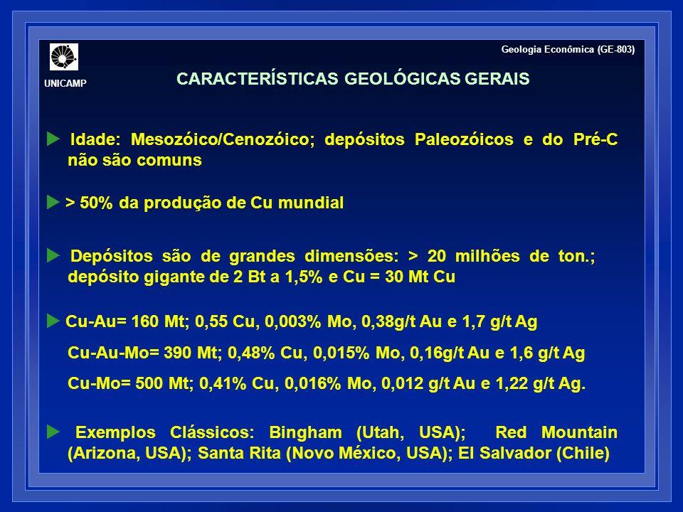 CARACTERÍSTICAS GEOLÓGICAS GERAIS