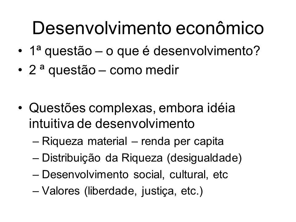 Desenvolvimento econômico