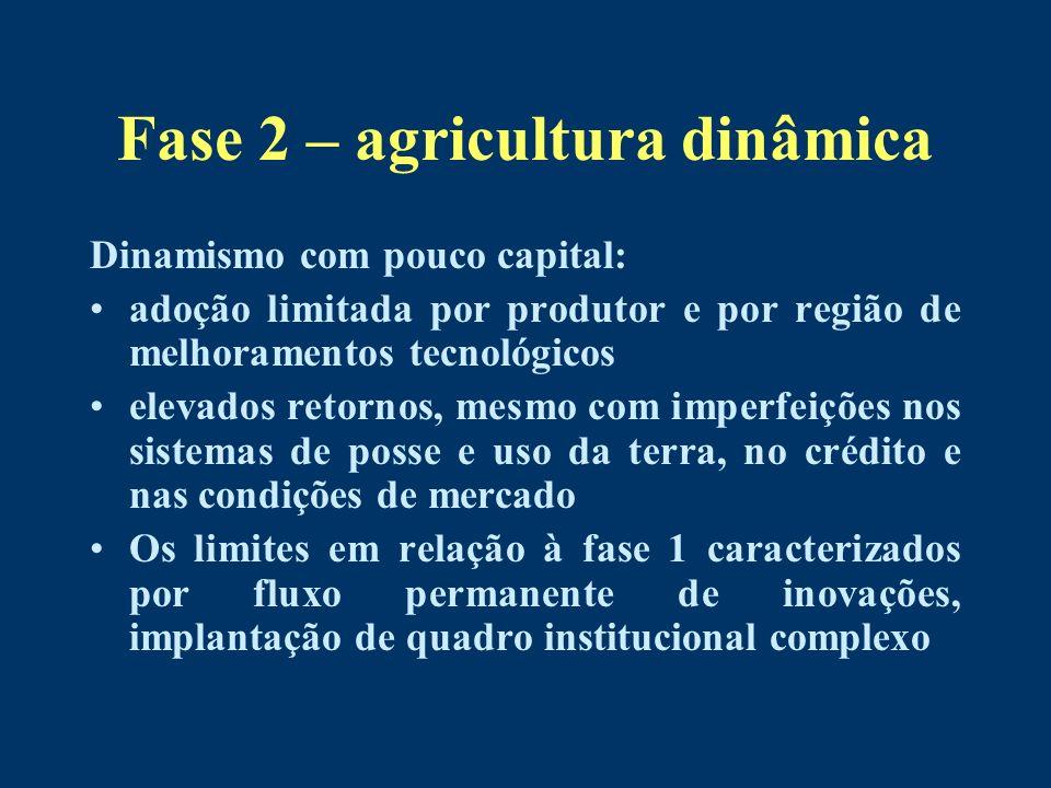 Fase 2 – agricultura dinâmica
