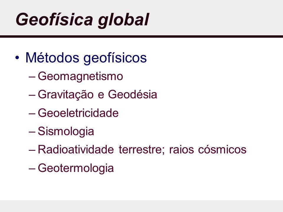 Geofísica global Métodos geofísicos Geomagnetismo