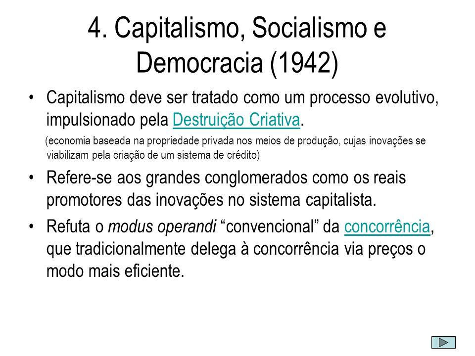 4. Capitalismo, Socialismo e Democracia (1942)