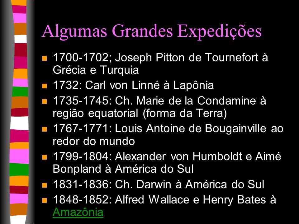 Algumas Grandes Expedições