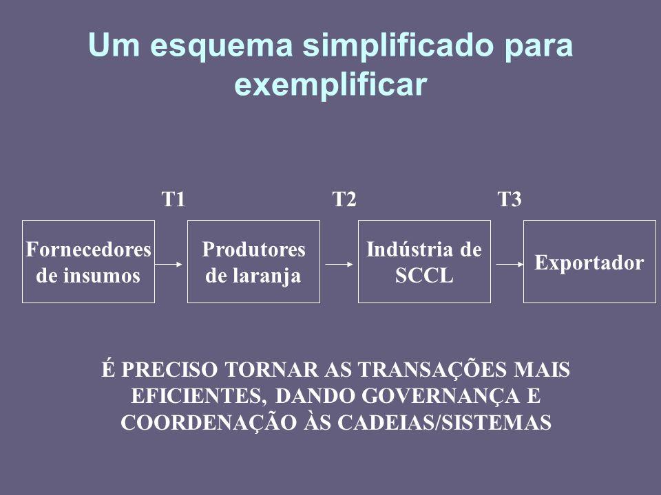 Um esquema simplificado para exemplificar