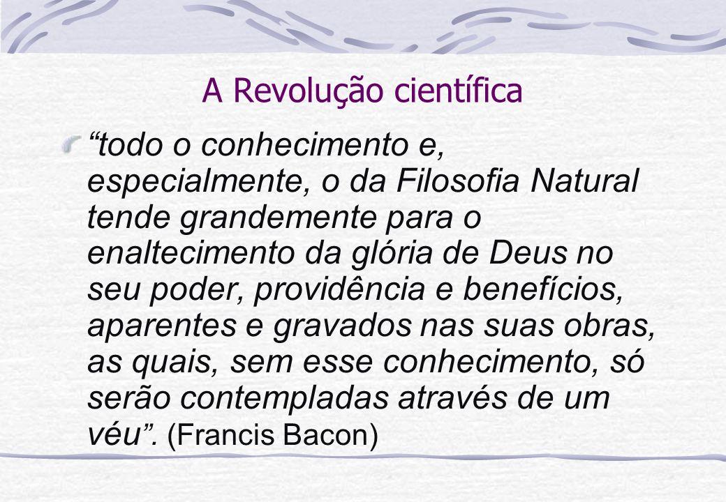 A Revolução científica
