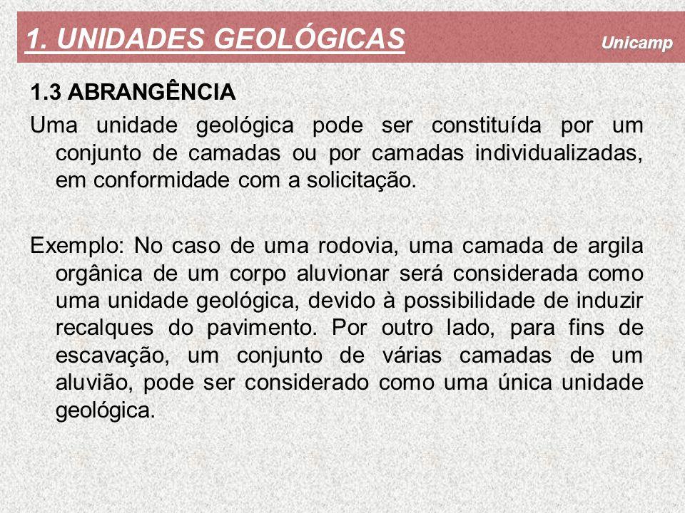 1. UNIDADES GEOLÓGICAS 1.3 ABRANGÊNCIA