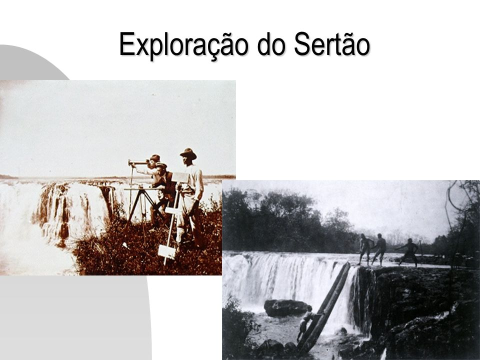 Exploração do Sertão