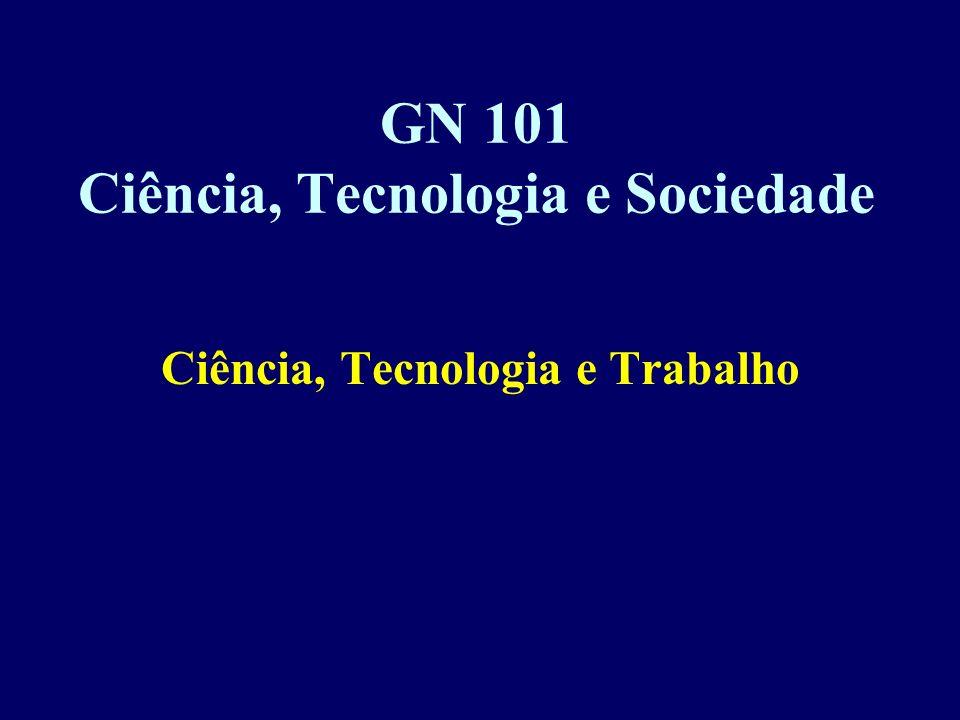 GN 101 Ciência, Tecnologia e Sociedade
