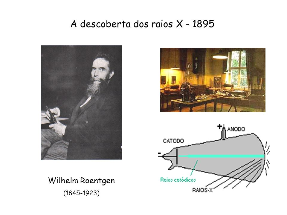 A descoberta dos raios X - 1895