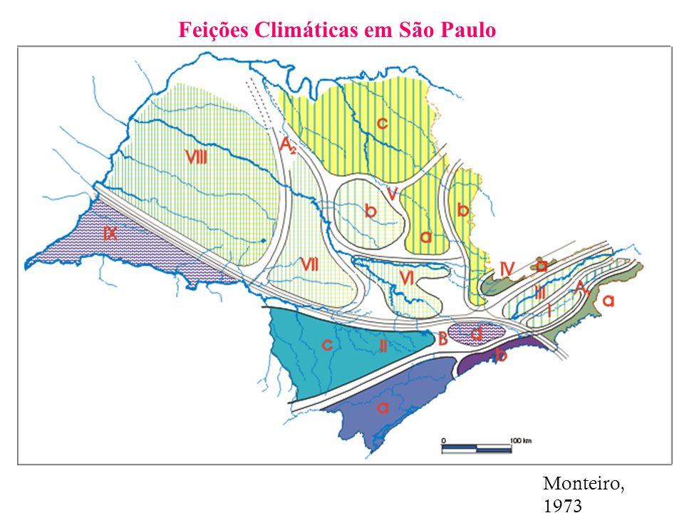 Feições Climáticas em São Paulo