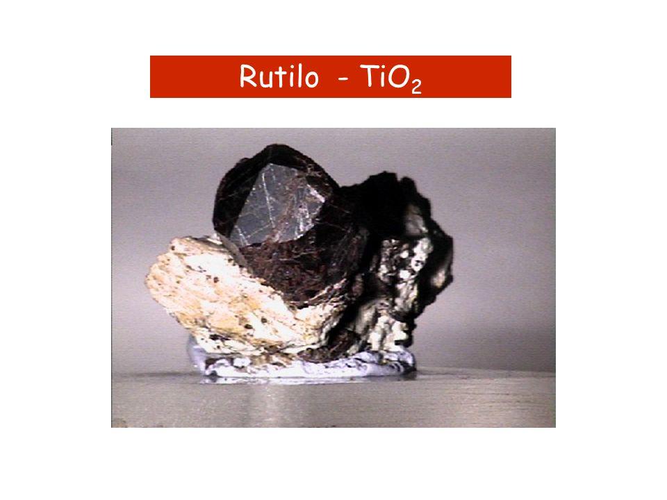 Rutilo - TiO2