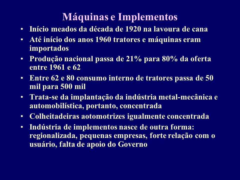 Máquinas e Implementos