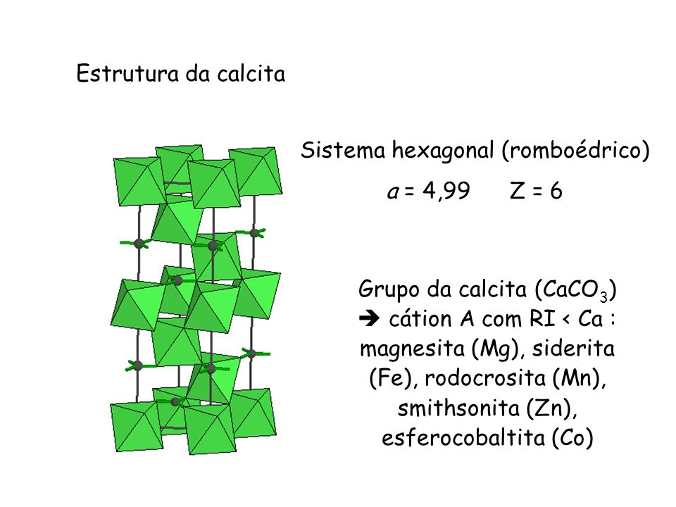 Sistema hexagonal (romboédrico)