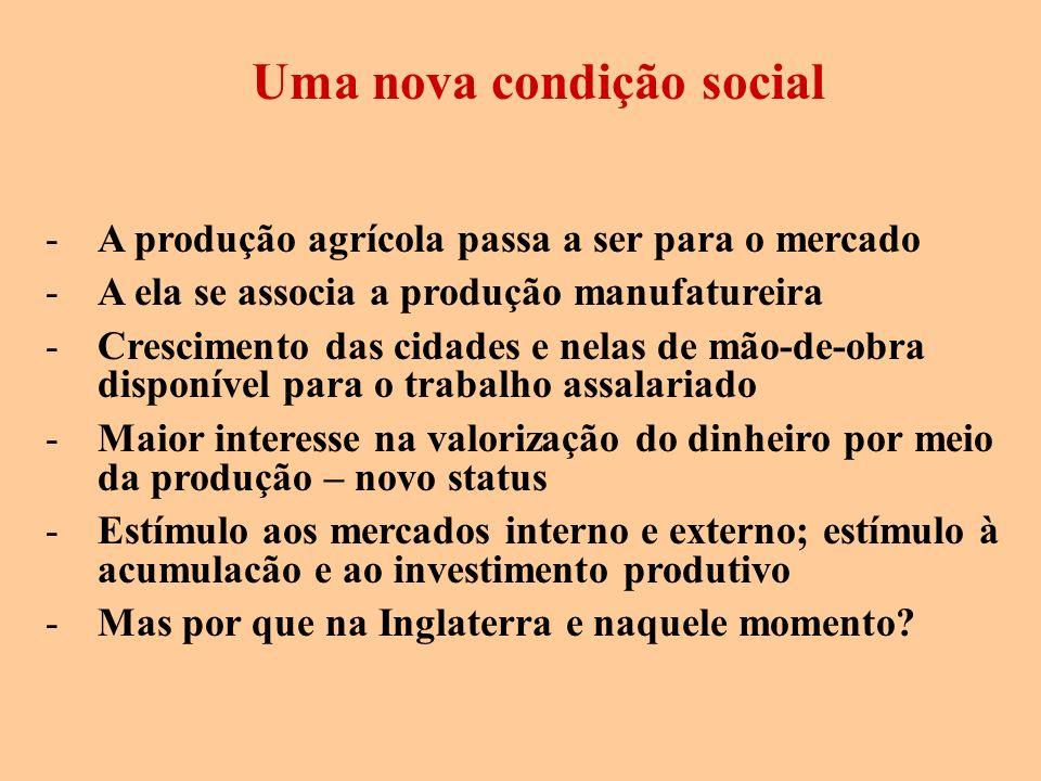 Uma nova condição social