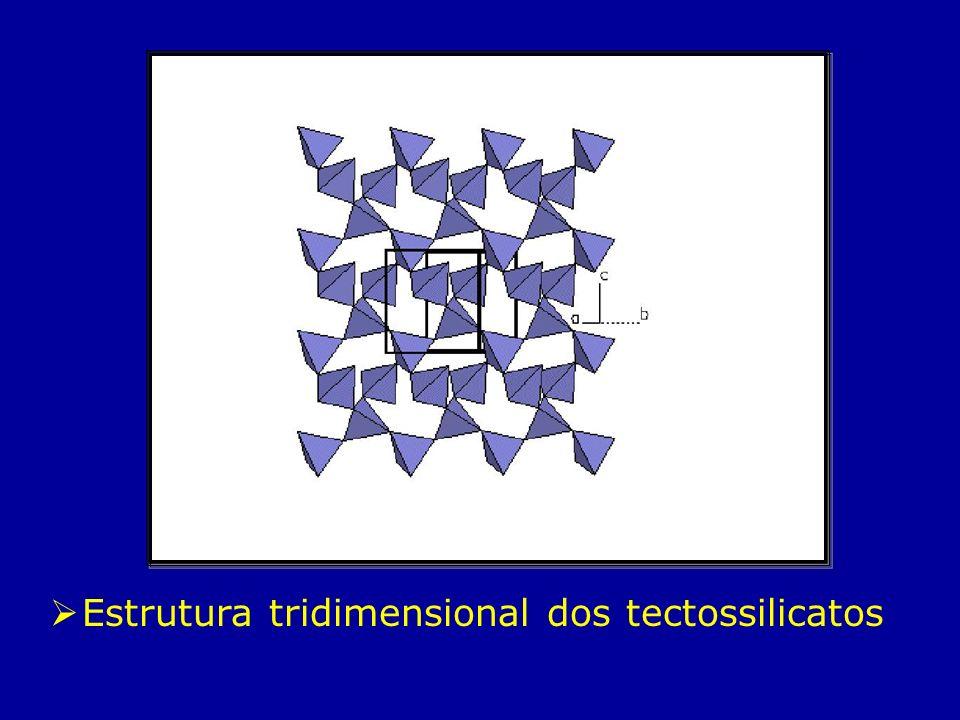 Estrutura tridimensional dos tectossilicatos