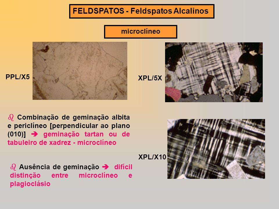 FELDSPATOS - Feldspatos Alcalinos