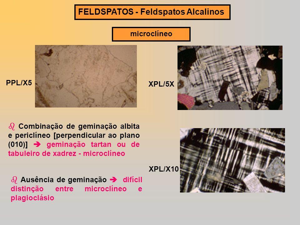 FELDSPATOS - Feldspatos Alcalinos