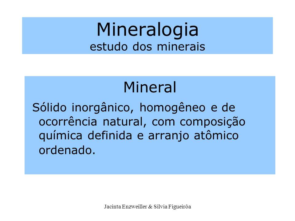 Mineralogia estudo dos minerais