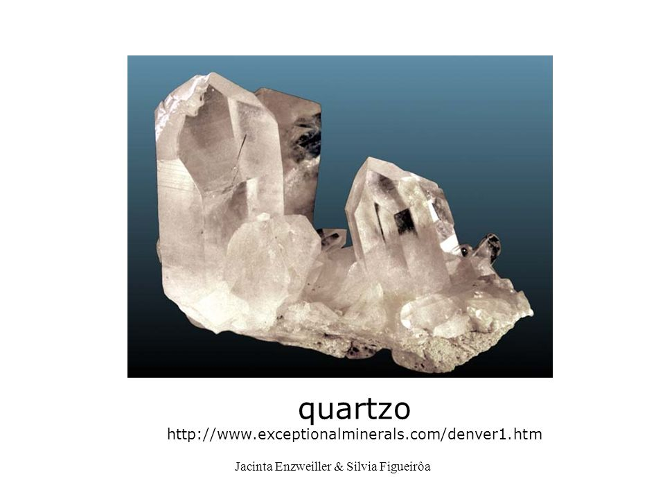 quartzo http://www.exceptionalminerals.com/denver1.htm