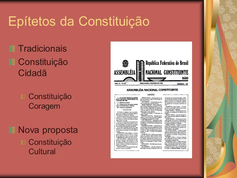 Epítetos da Constituição