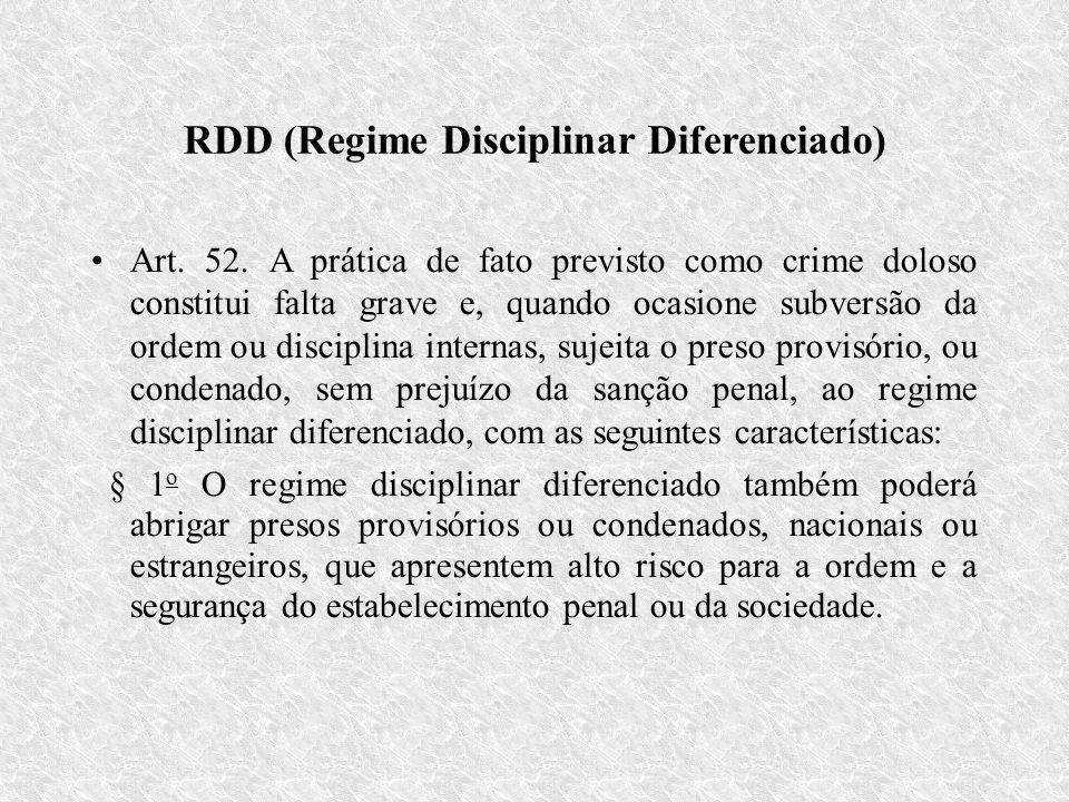 RDD (Regime Disciplinar Diferenciado)