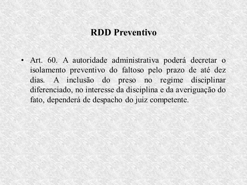 RDD Preventivo