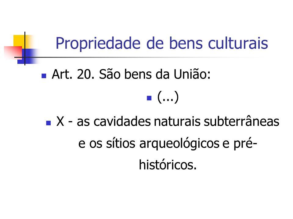 Propriedade de bens culturais