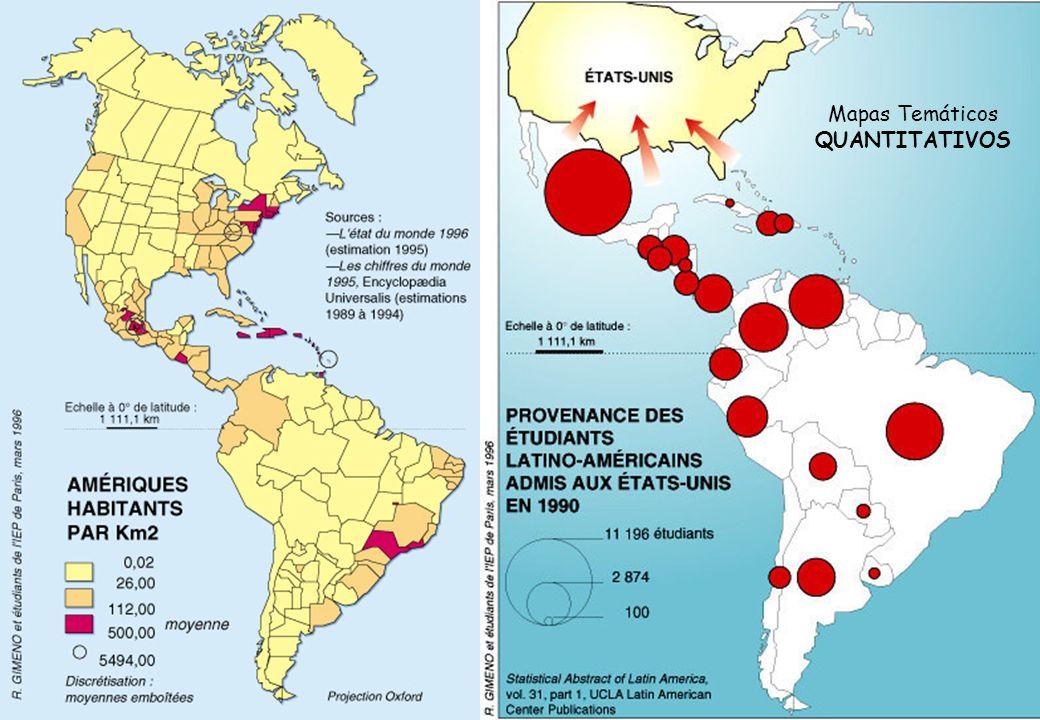 Mapas Temáticos QUANTITATIVOS