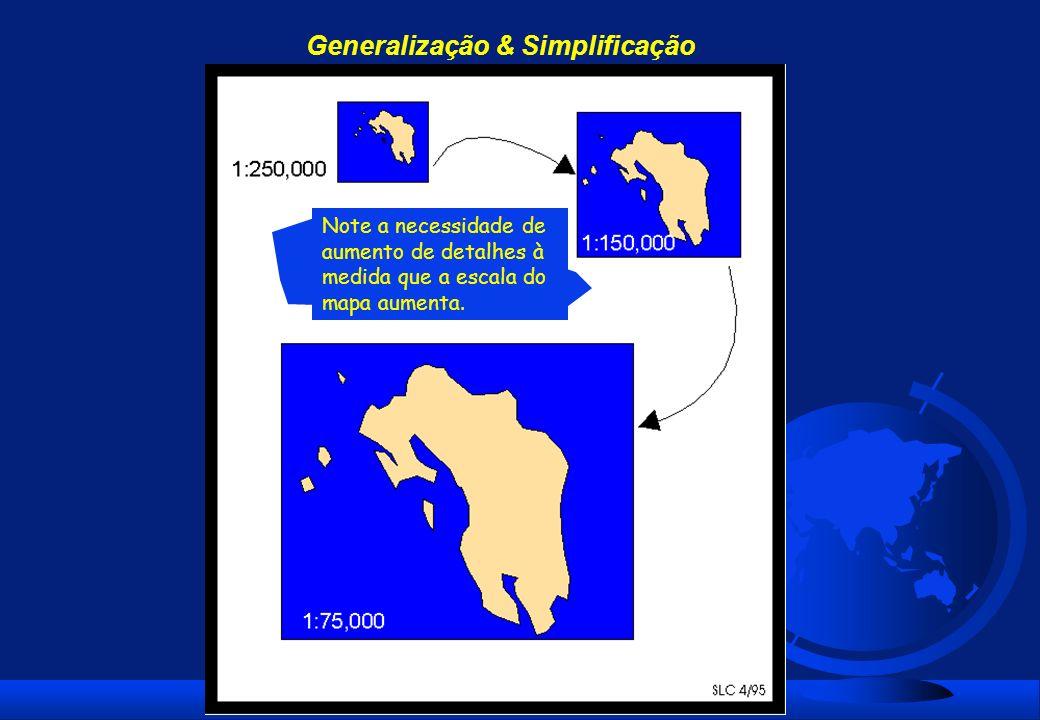 Generalização & Simplificação