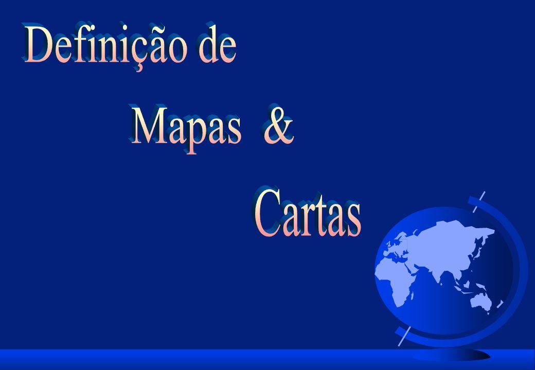 Definição de Mapas & Cartas