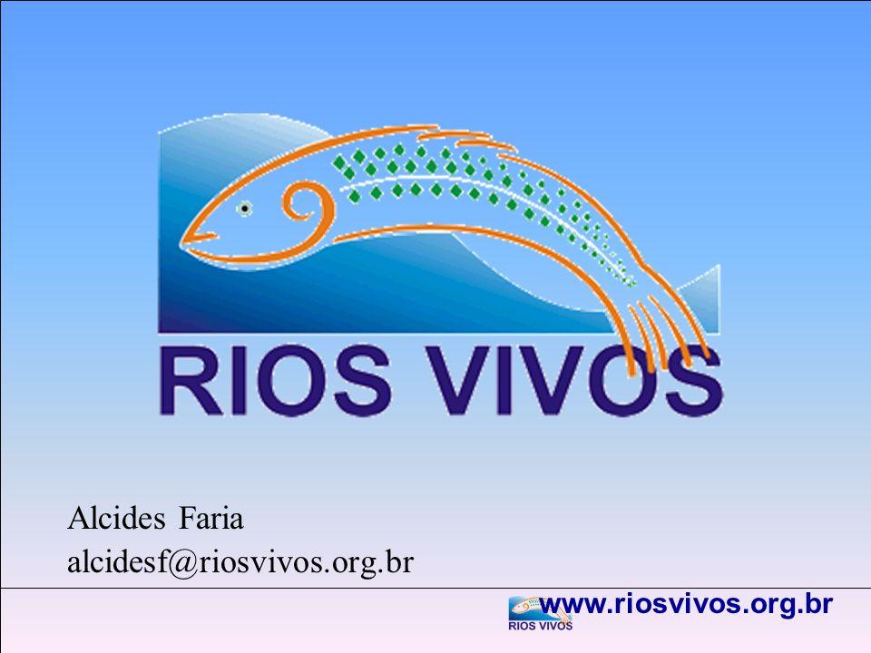 Alcides Faria alcidesf@riosvivos.org.br www.riosvivos.org.br