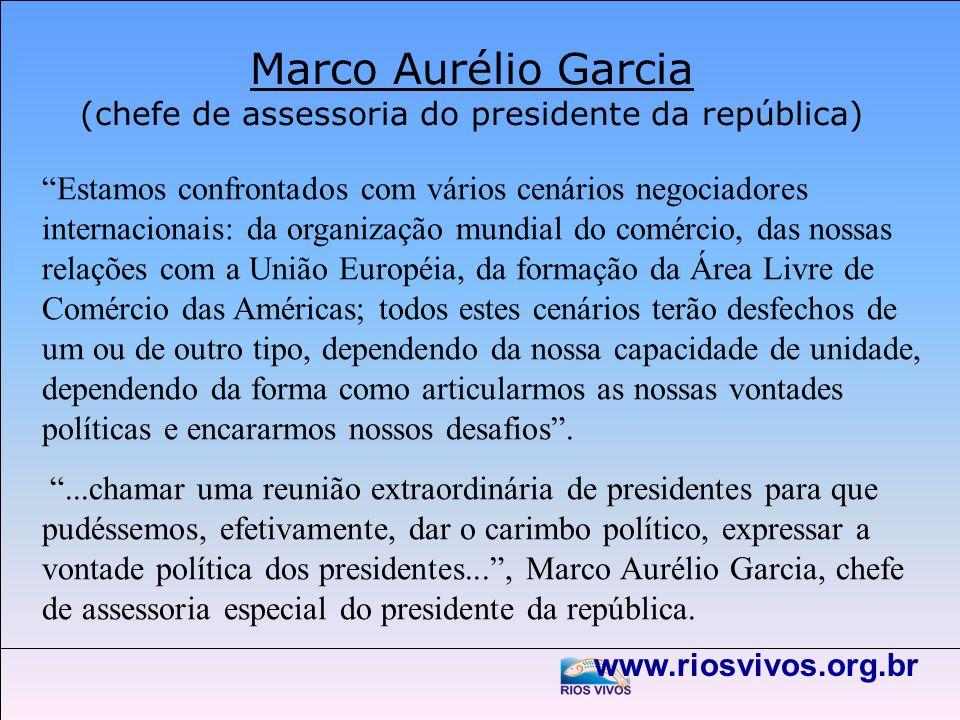 Marco Aurélio Garcia (chefe de assessoria do presidente da república)