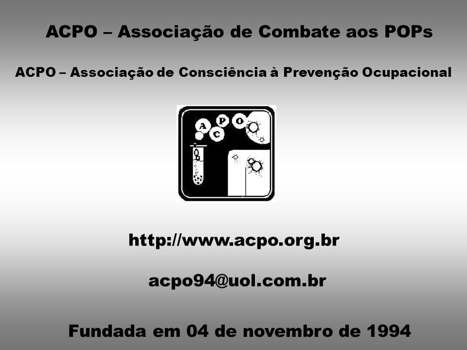 ACPO – Associação de Combate aos POPs