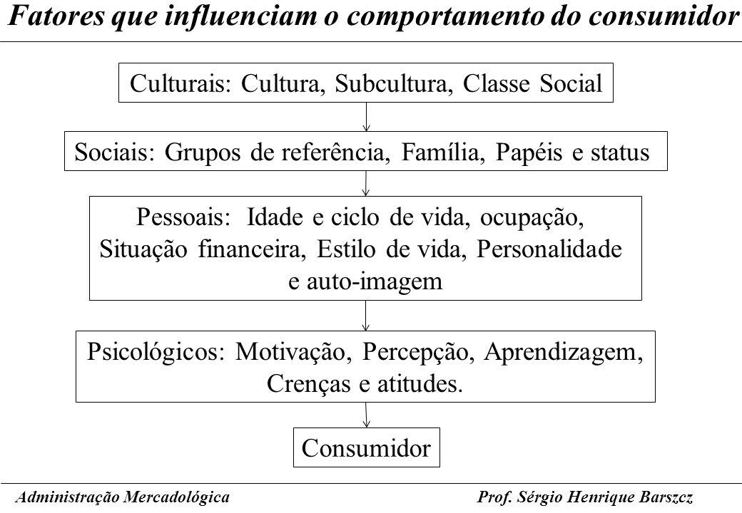Fatores que influenciam o comportamento do consumidor