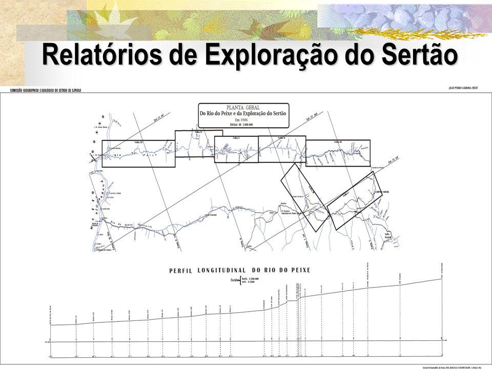 Relatórios de Exploração do Sertão