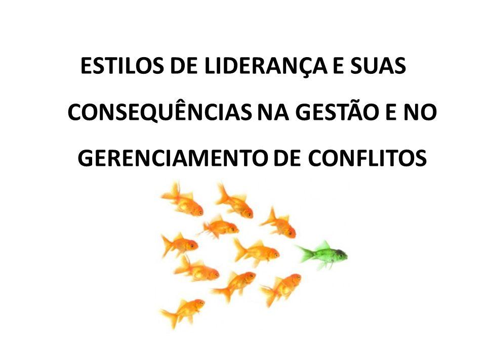 ESTILOS DE LIDERANÇA E SUAS CONSEQUÊNCIAS NA GESTÃO E NO GERENCIAMENTO DE CONFLITOS